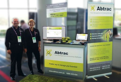 Team Abtrac good to go at the Gold Coast, Day 1.