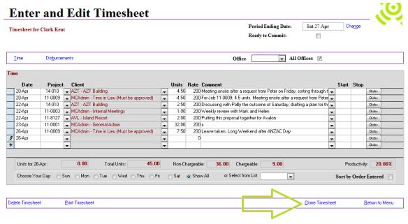 Abtrac5 - Clone timesheets