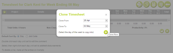 AbtracOnLine - Clone Timesheet