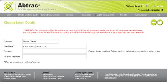 2020-09-15_change login details and save