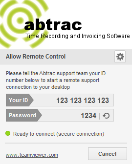 Abtrac Remote Support