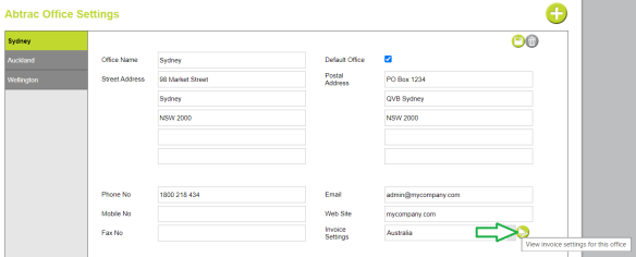 2020-09-21_Abtrac Office settings invoice settings