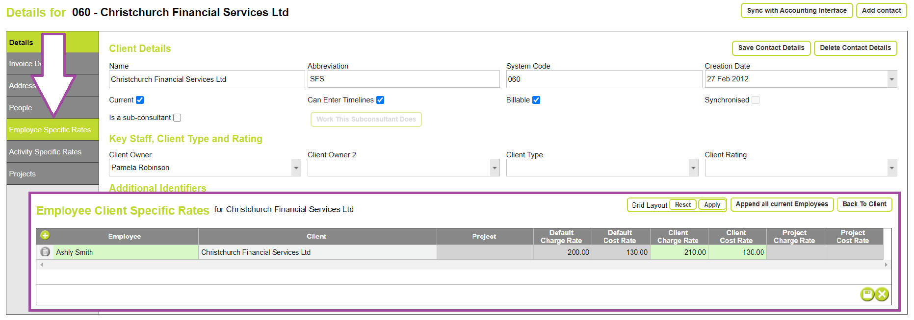 2020-09-17_details for project employee client specific rates